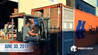 Forex Cargo | June 30, 2017 Shipping