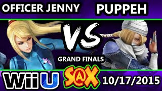 Fall Arcadian - Puppeh (Sheik) Vs. Officer Jenny (ZSS) SSB4 Grand Finals - Smash Wii U - Smash 4