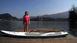 World's First Self-inflating Electric Powered SUP board
