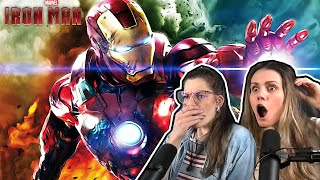 Iron Man ( 2008) REACTION FIRST TIME WATCHING