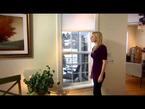 Cordless Cellular Shades by Comfortex