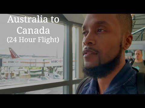 Australia To Canada (24 Hour Flight)