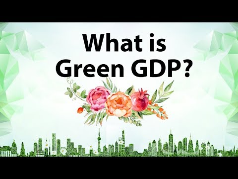 What is Green GDP - calculating Natural Capital for sustaina