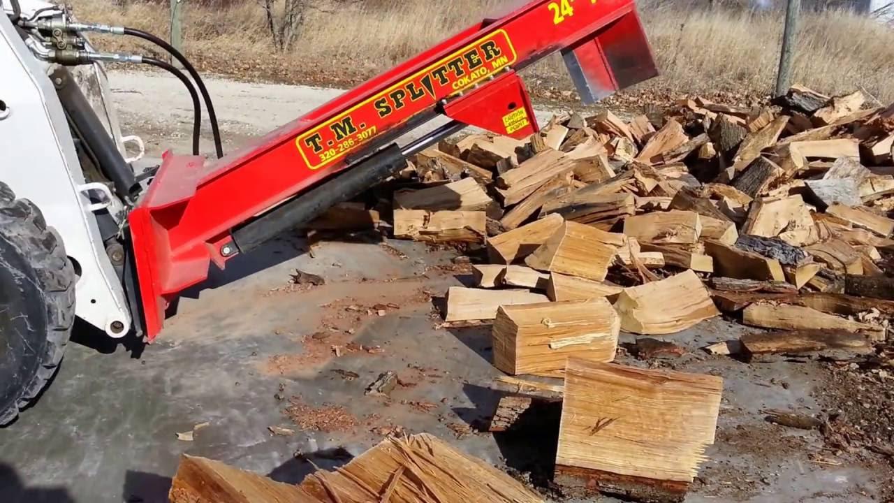 Skid Steer Log Splitters
