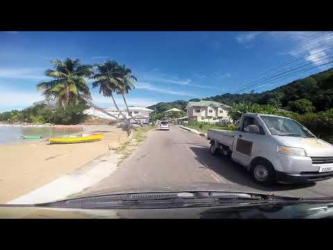 Praslin, Seychelles; Anse Volbert to Grand Anse