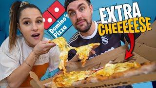 Je commande une Pizza avec 11 suppléments Fromage chez Domino's Pizza ! (j'ai un peu abusé...)