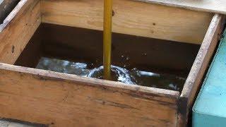 Что делать с незапечатанными рамками при последней откачке меда