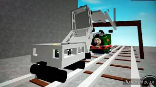 Trucks/Rusty Helps Peter Sam Crash Scene