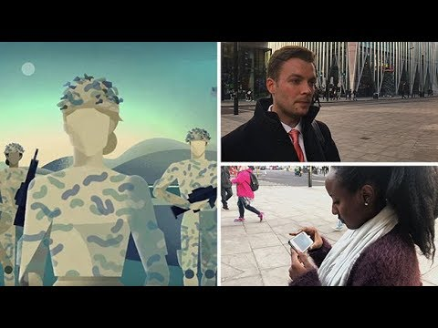 Watch people react to British Army