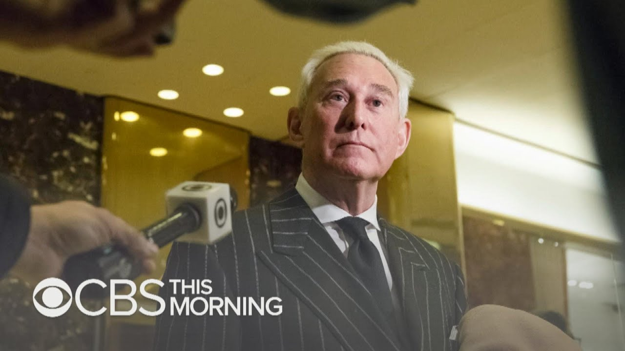 Roger Stone, former Trump campaign adviser, charged in Russia investigation