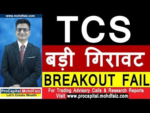 TCS SHARE LATES NEWS | बड़ी गिरावट BREAKOUT FAIL | TCS SHARE PRICE TARGET