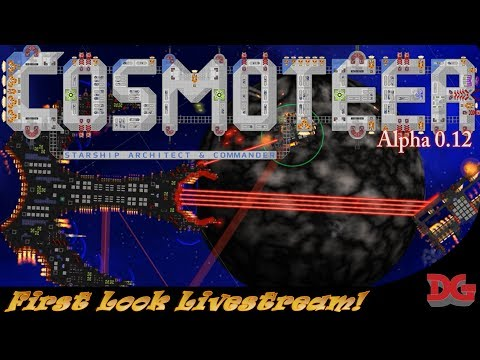 Cosmoteer Alpha 0.12 ► Top Down Spaceship Architect and Ship Dueling! *Livestream Event!*
