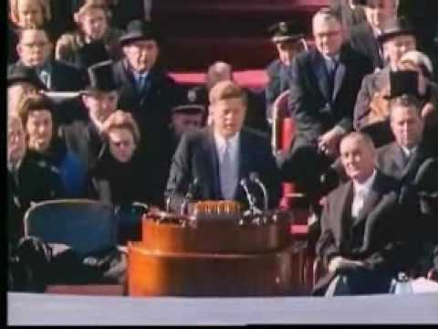 JFK Inaugural Address 1 of 2