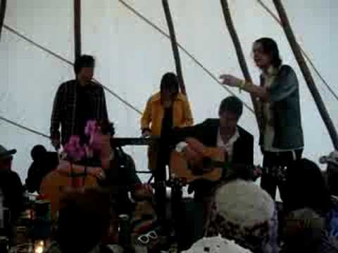 Ahuman - Pacey SInger acoustic at Standon Calling