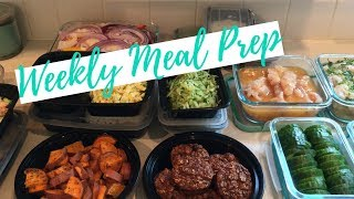 Weekly Meal Prep | Weight Watchers Freestyle | 06.03.18