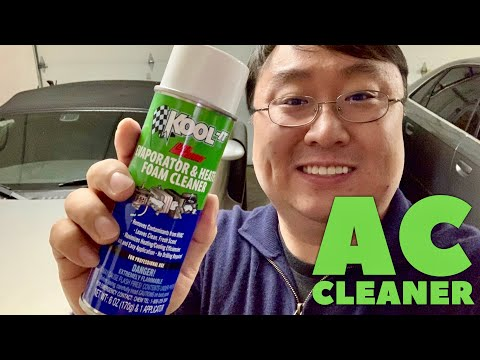 How to Clean Your Car AC with Lubegard Kool-It Evaporator and Heater Foam Cleaner