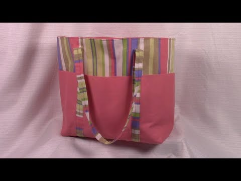 6 Pocket Tote Bag