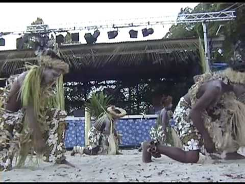 Traditional dancing from Lifou, New Caledonia