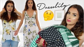 HUGE DRESSLILY TRY ON HAUL... CHEAP SUMMER CLOTHES!!