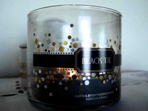 Bath and Body Works Candle Review: Hall of Shame (BACK TO THE STORE)- Black Tie