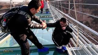 10 ужасающих мостов, которые страшно пересекать