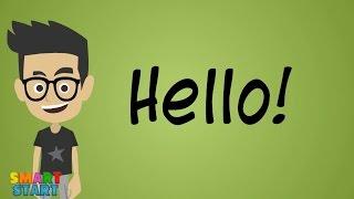 Приветствия в английском языке для детей / English greetings for kids