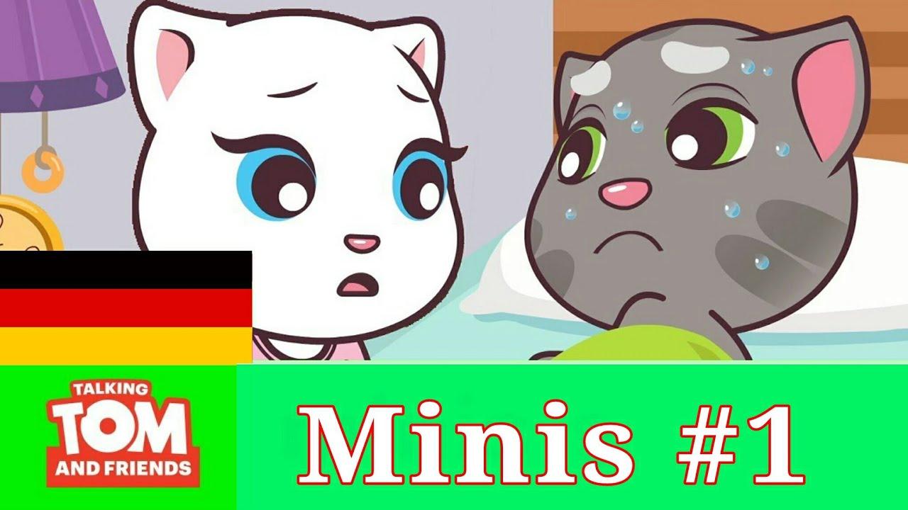Talking Tom and Friends Minis -Epis1 - Tom Sie Krank