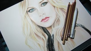 Avril Lavigne | Speed Drawing by Annie