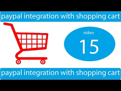 paypal integration with shopping cart