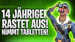 14 JÄHRIGER RASTET AUS & NIMMT TABLETTEN! 🤬💊 | Fortnite: Battle Royale