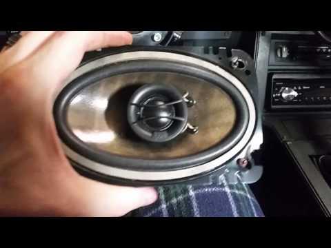 Camaro Speaker Install