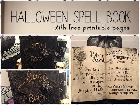 How To Do A Spell Book For $2.00
