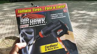 Air Hawk Pro Review by Ruckus One - Like Craftsman Air Inflator | HD