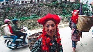 #7 Развод по Вьетнамски. Красные зао и черные хмонги. Природа Сапы