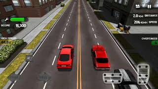 Race the traffic game video for baby.