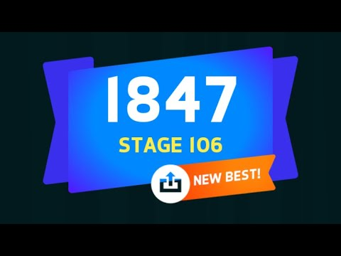 УРА!!! НОВЫЙ РЕКОРД!!! STAGE 106 | Knife Hit