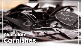 Chocolate Garnishes - Today