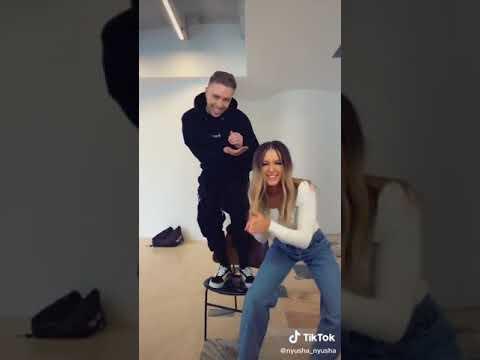 Нюша и Егор Крид танцуют в TikTok
