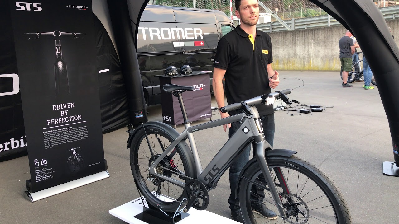 c62439c181c Stromer ST5 demo Circuit Zolder (BE) - YouTube
