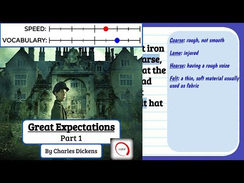 Learn English Through Story - Great Expectations, Part 1 subtitles, meanings and definitions Level 7