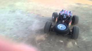 fs 53910 1 10 2 4g 4wd brushed rc racing car speed test