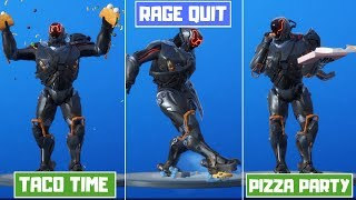 *NEW* All Leaked Fortnite Emotes (v10.30)! (Taco Time, Rage Quit, Pizza Party)