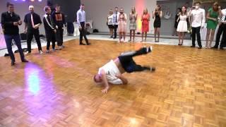 Pokaz breakdance na weselu Moniki i Marcina (2015)
