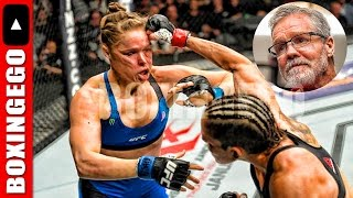 """FREDDIE ROACH SAYS RONDA ROUSEY SHOULD RETIRE: """"EVERYONE HAS RONDA'S NUMBER NOW"""" *BOXINGEGO*"""