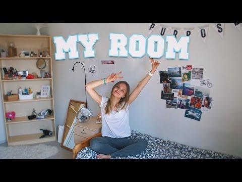MY ROOM! Тур по Общежитию в Финляндии // Часть 2