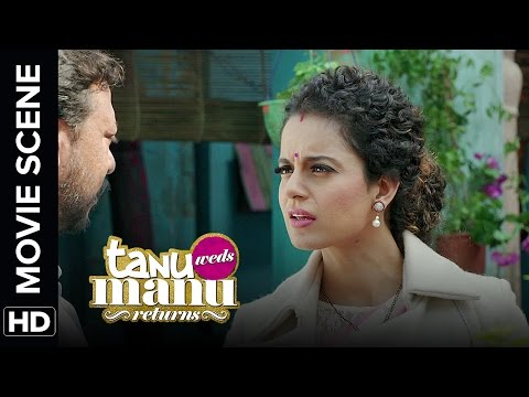 Look whose razor sharp | Tanu Weds Manu Returns | Movie Scenes