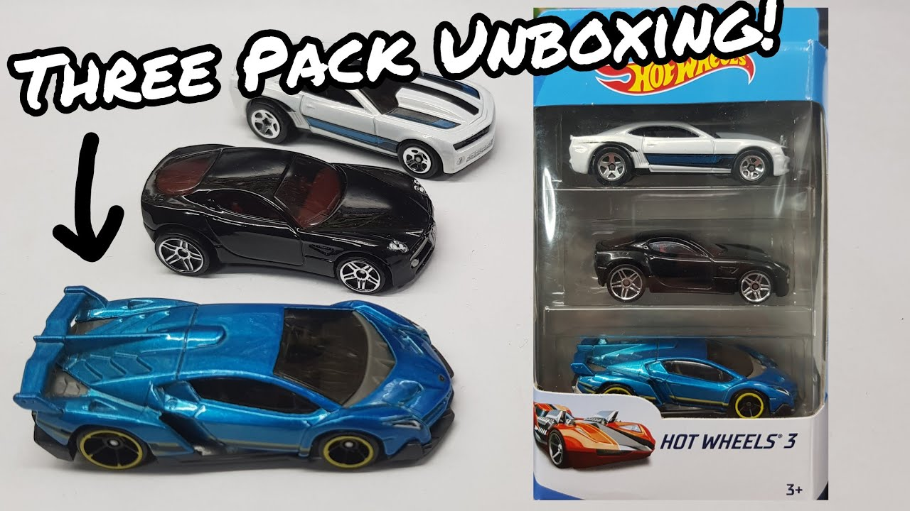 Lamborghini Veneno Hot Wheels Blue
