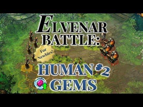 Elvenar Battle - NEWBIE Humans Gems Tournament # 2