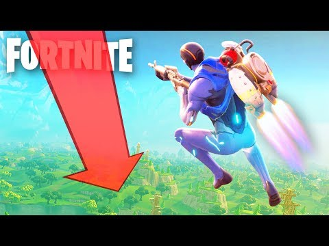 FORTNITE JETPACK FAILURE! (The Pals play Fortnite)