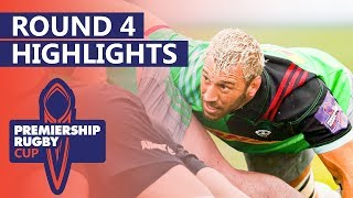 24 Point Comeback, Huge London Derby, Final 4 Decided! | Premiership Rugby Cup - HIGHLIGHTS